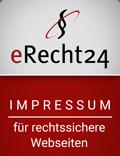 eRecht24 | Impressum für rechtssichere Webseiten